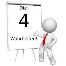 4 Wahrheiten - www.selbstbewusster.info